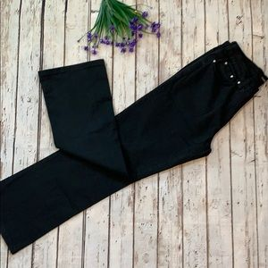 VERSACE black pants size 30